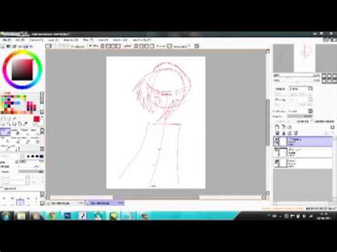 paint tool sai tutorial with mouse como desenhar no paint tool sai o mouse tutorial