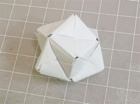 modular origami octahedron modular origami how to make a cube octahedron