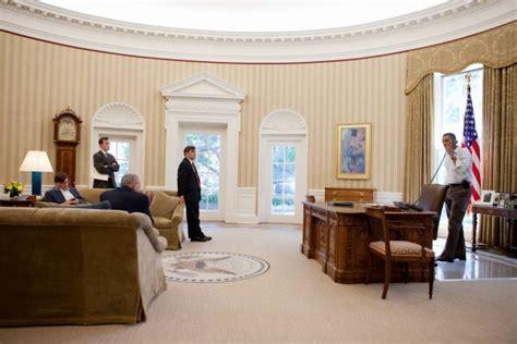 Obama Oval Office Decor the quot resolute desk quot des glaces de l artique au bureau