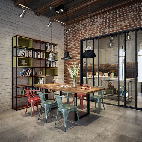 style dining room industrial style dining room design the essential guide