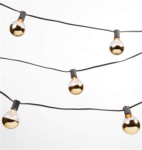 light bulb strings 20 gold bulb string lights rejuvenation