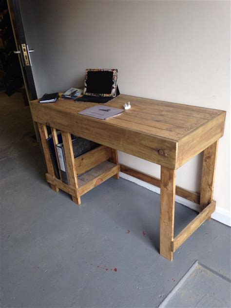 office furniture woodworking plans diy wood pallet office computer desk pallet furniture plans