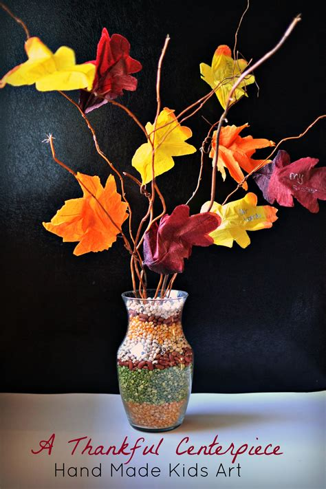 thanksgiving centerpiece craft for crafts and activities that teach gratitude the joys of boys