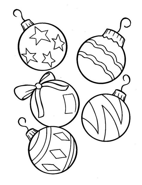 tree ornament coloring pages tree ornaments coloring template coloring pages