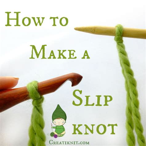 how to make a slipknot for knitting how to make a slip knot for knitting or crochet