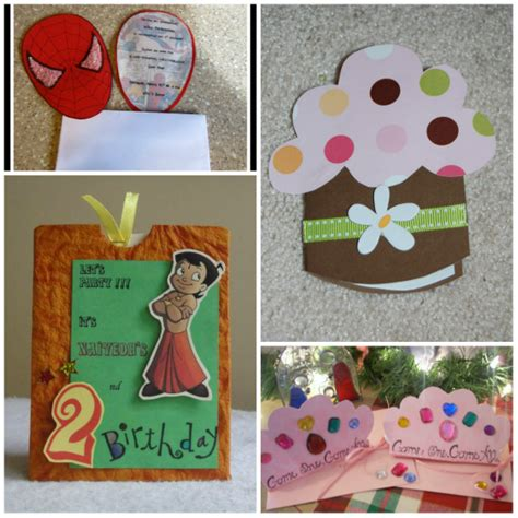 how to make birthday invitation cards at home birthday invitations for bagvania free