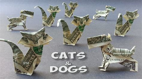 dollar bill origami cat 1000 images about origami from money on