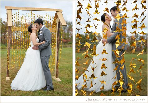 origami crane pictures for weddings photography hudson valley autumn