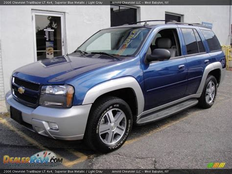 2006 Trailblazer Lt by 2006 Chevrolet Trailblazer Lt 4x4 Superior Blue Metallic
