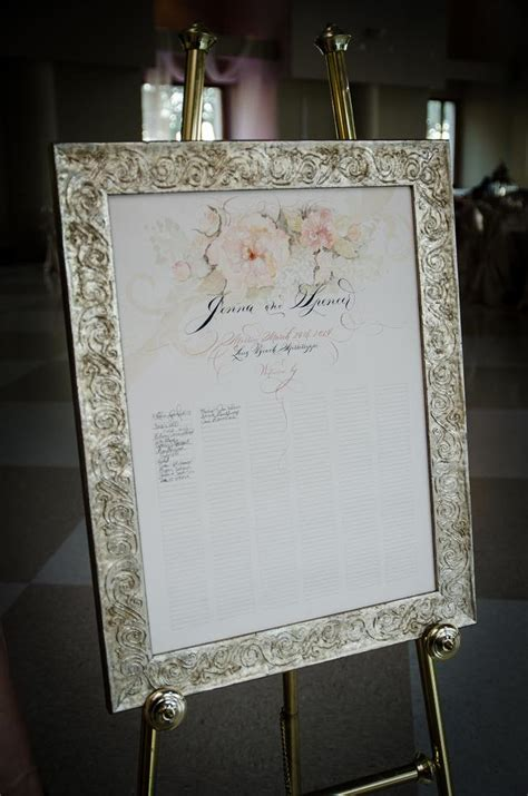 picture frame guest book wedding brides who used a picture frame signatures on the mat as a