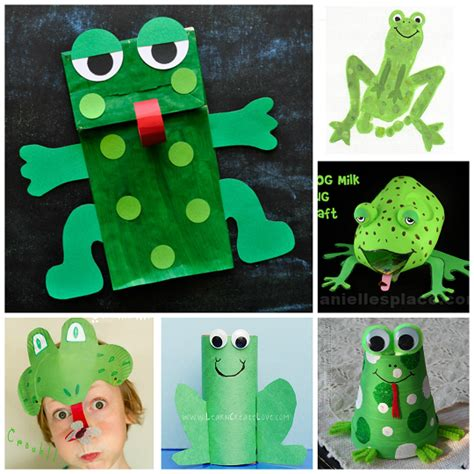 frog craft project frog crafts for to create crafty morning