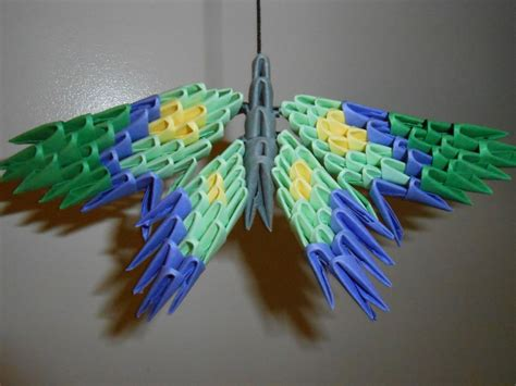 3d origami butterfly 3d origami butterfly by elf10444 on deviantart