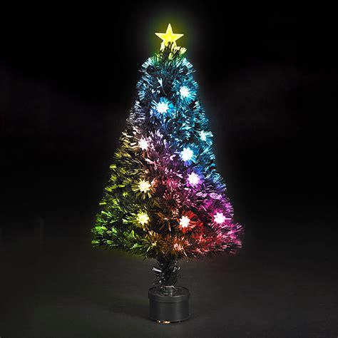 fiber optics trees 6 fiber optic artificial tree