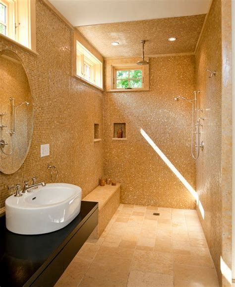 walk in shower bathroom designs doorless shower designs teach you how to go with the flow