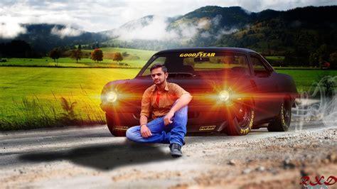 Car Wallpaper Tutorial Photoshop by Photoshop Manipulation Car Photoshop Change