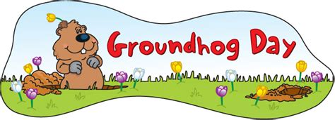 groundhog day free free groundhog day clipart