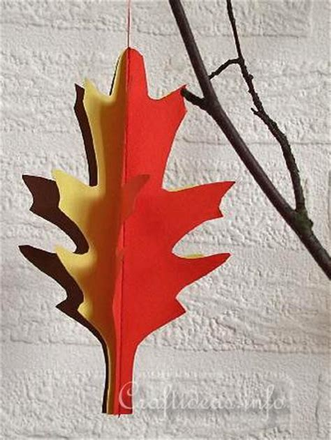 fall paper craft ideas free paper craft ideas fall and craft a 3 d