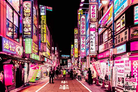 toyo lights tokyo s neon drenched cityscapes celebrated in new photo
