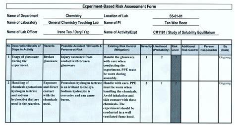 risk assessment 28 general risk assessment template general risk