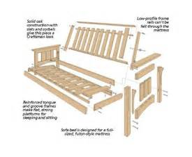 futon woodworking plans how to build a catamaran out of pvc futon bed plans free
