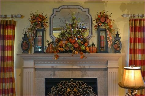 mantle decoration the exle design of fall mantle decor ideas the