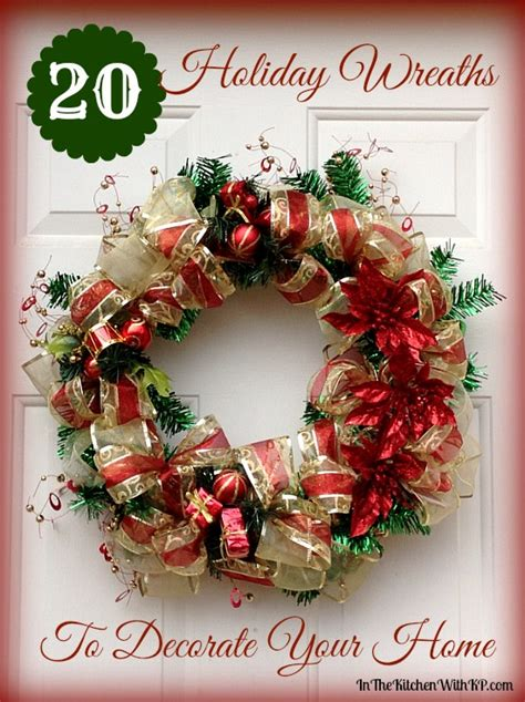 decorating wreaths for 20 wreaths to decorate your home in the kitchen