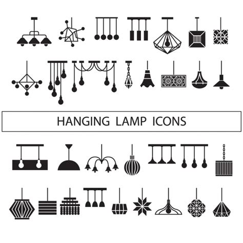 silhouettes lights ls silhouettes collection vector free