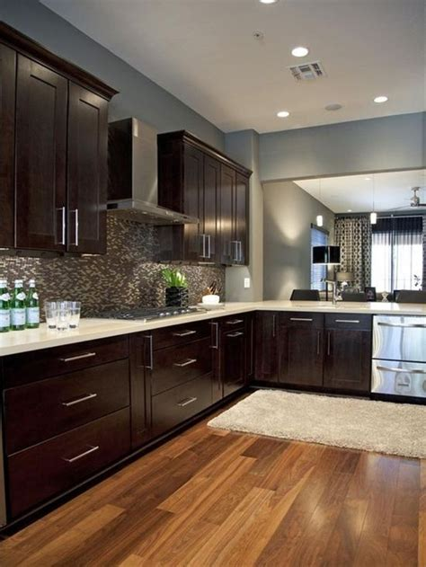paint colors for kitchen with espresso cabinets 17 best ideas about gray walls decor on gray