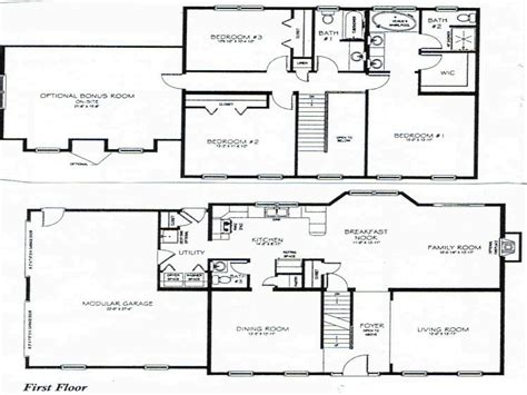 2 story house plan 2 story 3 bedroom house plans small two story house plan mexzhouse