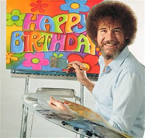bob ross the happy painter the active listener shucks one year today