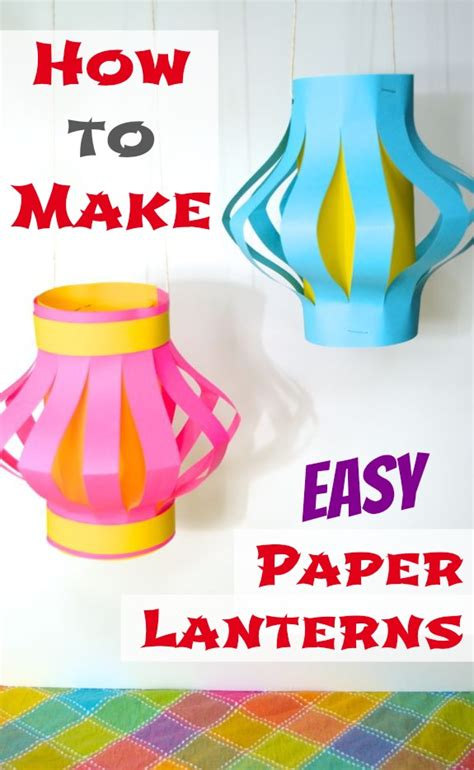 how to make arts and crafts out of paper how to make easy paper lanterns japan inner child