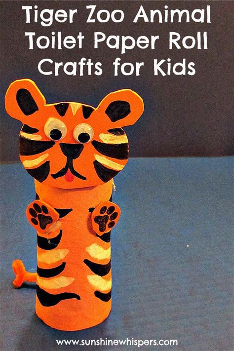 tiger crafts for 15 tiger themed crafts