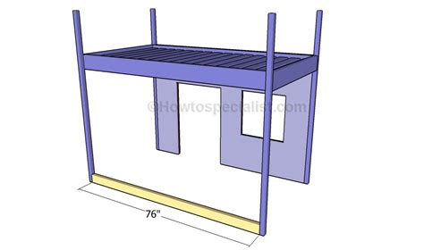 how to build a loft bed frame building a loft bed frame how to build a loft bed