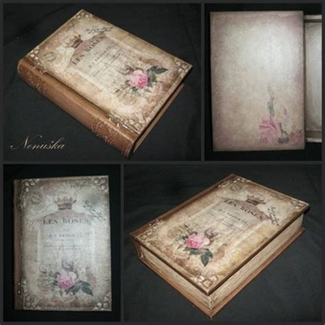 decoupage book decoupage book box by snegurocka on deviantart