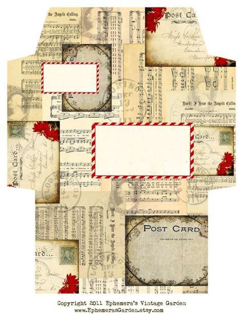 craft paper pattern vintage by ephemerasgarden paper crafts