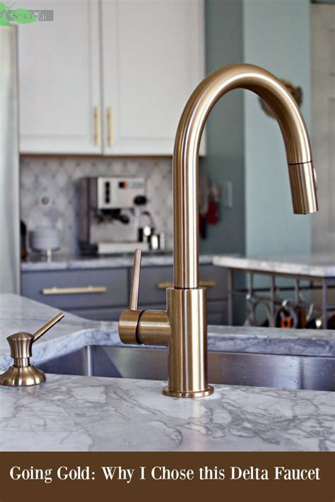 gold kitchen faucet 25 best ideas about gold faucet on brass