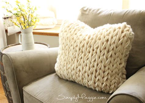how to knit a pillow for beginners 9 popular arm knit patterns simplymaggie