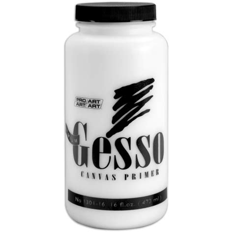 acrylic paint gesso canvas pro 16 oz premium gesso canvas primer acrylic paints