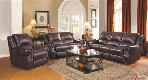 leather living room furniture sir rawlinson leather motion living room furniture