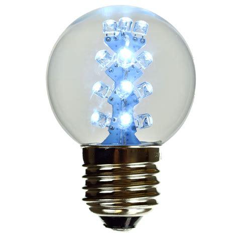 cool white lights cool white g50 led globe light bulb