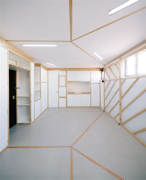 origami screen origami apartment instantly shape shifting micro