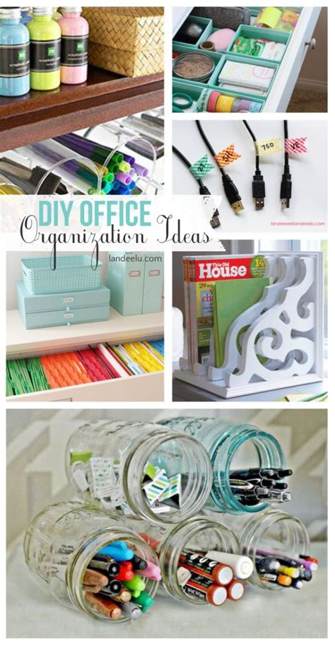 diy bedroom organization ideas diy office organization ideas landeelu