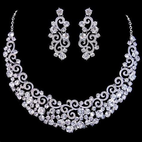 how to make wedding jewelry vintage inspired swarovski bridal jewelry set by