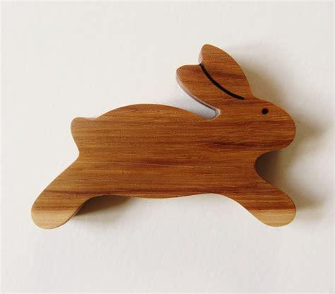 rabbit woodworking wooden bunny teether rabbit teething by