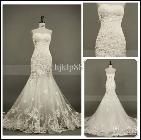 mermaid wedding dress with beading actual images new sweetheart strapless beautiful applique