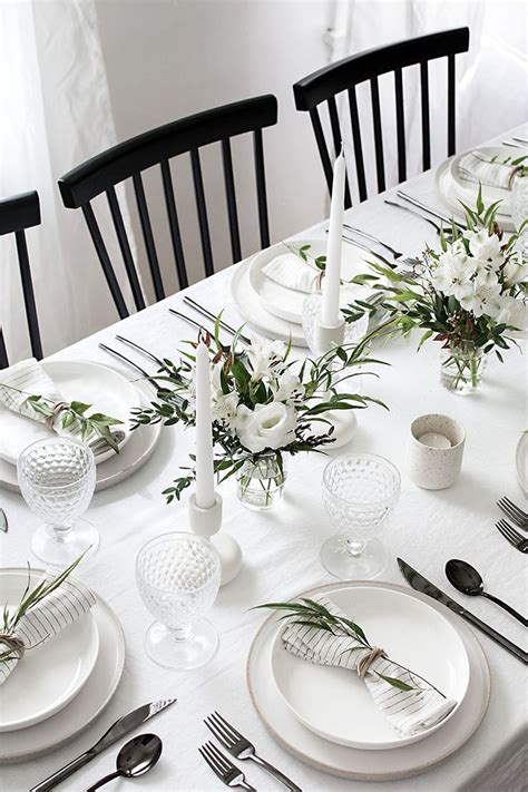 decoration ideas for table settings best 25 formal table settings ideas on table