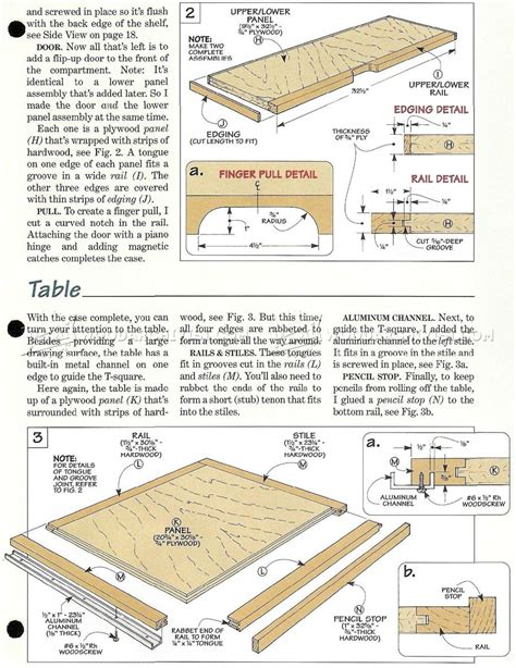 drafting table woodworking plans drafting table design plans fold drafting table plans