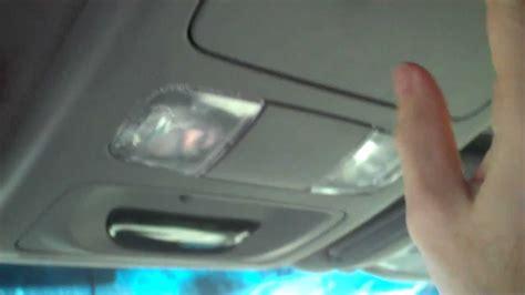 overhead door tacoma toyota tacoma overhead compass temp repair by