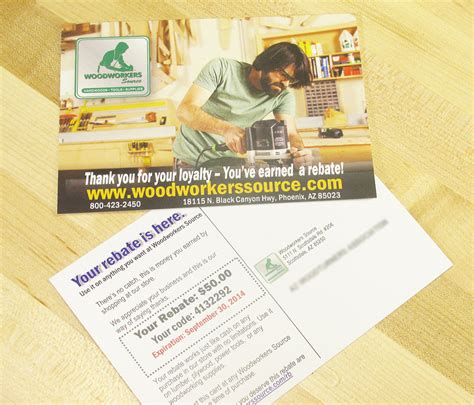 woodworkers source coupon if you received a rebate credit in the mail here s why