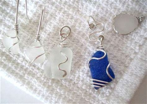 how to make jewelry out of sea glass collecting sea glass jewelry journal
